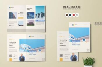 Real Estate Bi-Fold Brochure ZXNG2JE 5