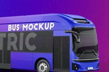Hyundai Electric City Bus Mockup 27476773 6