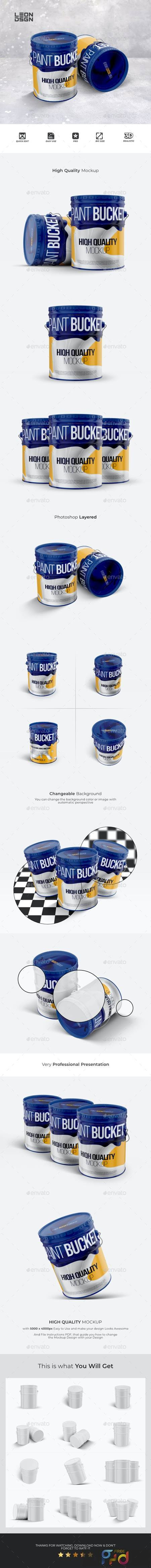 Paint Bucket Tin Mockup 27486917 1