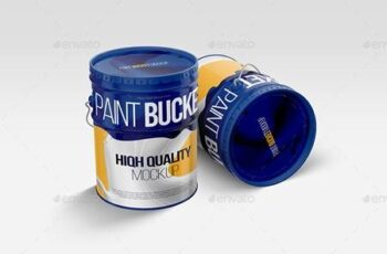 Paint Bucket Tin Mockup 27486917 4