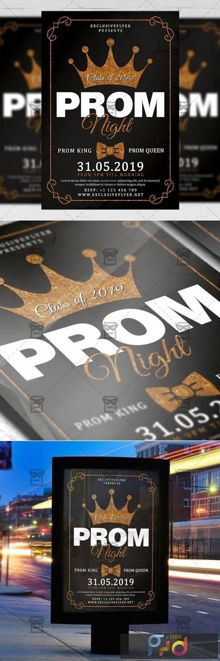 Prom Night Flyer - Seasonal A5 Template 19489 1