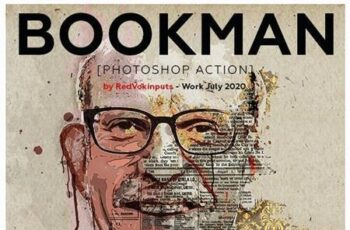 Bookman Photoshop Action 27709777 7