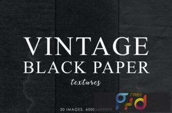 Black Vintage Paper Textures 2 HLGZNP9 4