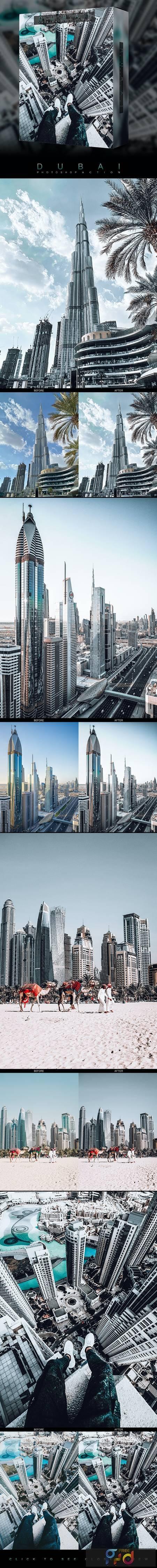 Famous Citys - DUBAI - Photoshop Action 26697077 1