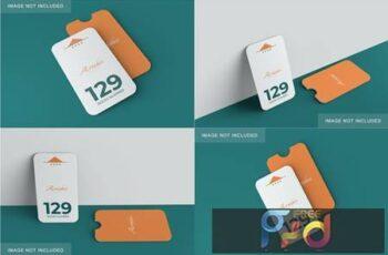 Minimalist Card & Holder Mockup FYAEQDN 6