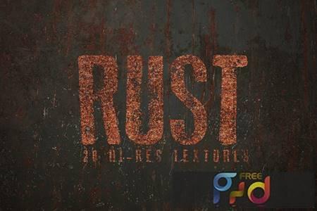 Rust Textures HHWUESG 1