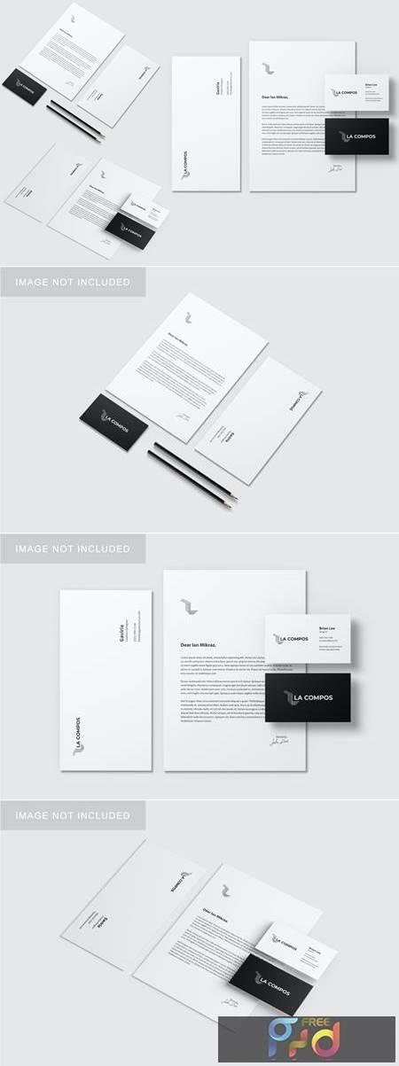 Stationery Brand Identity Mockup 7AKMB5U 1