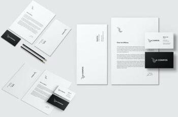 Stationery Brand Identity Mockup 7AKMB5U 5