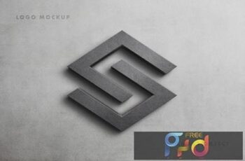 Stone Logo Mockup Scene D33VZVL 2