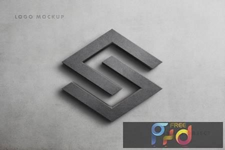 Stone Logo Mockup Scene D33VZVL 1