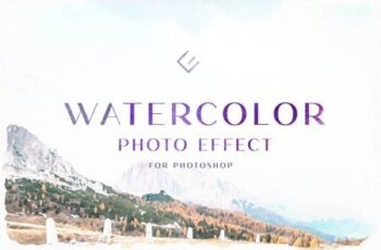Watercolor Photo Effect 4970039 3