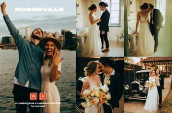 Rosseville - Natural Light Wedding 4987744 3