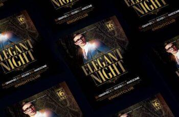 Elegant Night Flyer TS9J6HC 7