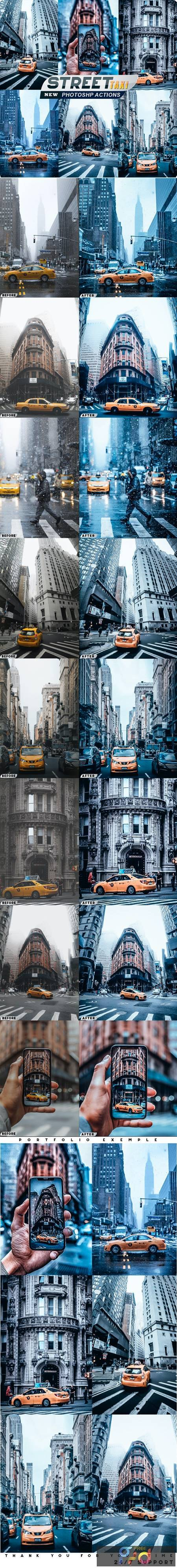 Street Taxi Photoshop Actions 26717348 1