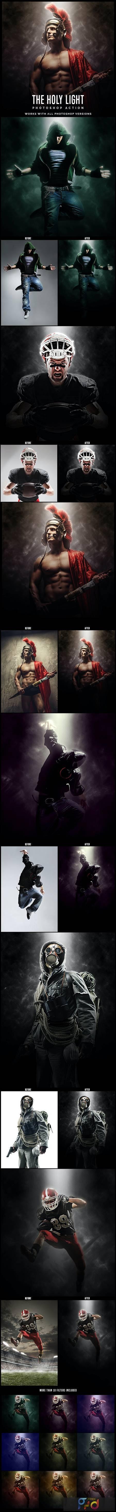 The Holy Light - Premium Photoshop Action 26637458 1