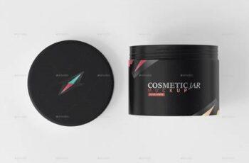 Cosmetic Jar & Box Mockup 26013468 4