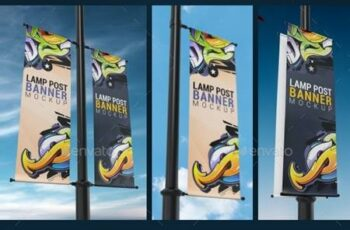 Lamp Post Banner Mockup 25263482 6