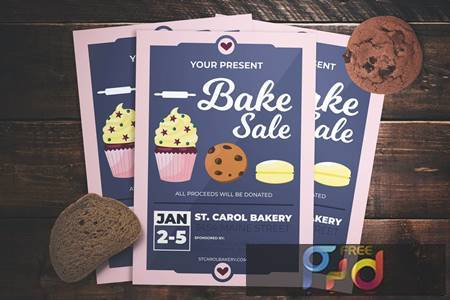 Bake Sale Flyer DXNAAU 1