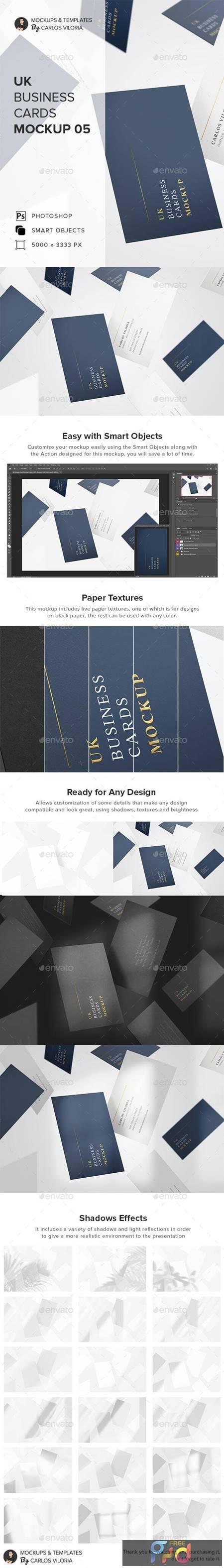 UK Business Cards Mockup 05 27618098 1