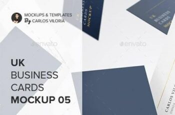 UK Business Cards Mockup 05 27618098 11