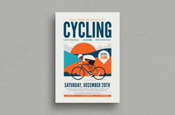 Cycling Event Flyer 6A9W62 4
