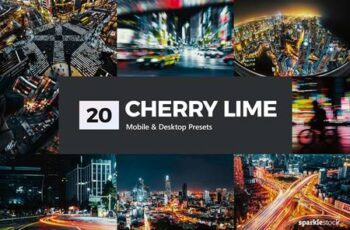 20 Cherry Lime Lightroom Presets & LUTs 5295271 5