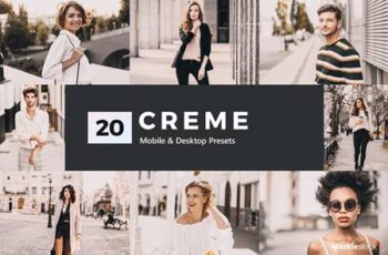 20 Creme Lightroom Presets & LUTs 5300619 3