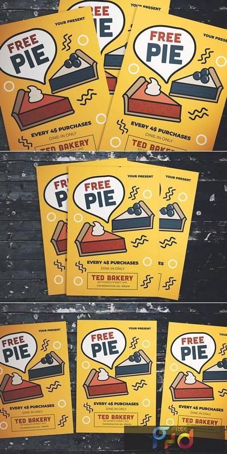 Free Pie Flyer XY7PX9 1