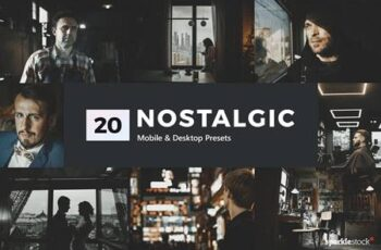 20 Nostalgic Lightroom Presets & LUTs 5302007 4