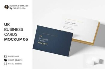UK Business Cards Mockup 06 5217165 6
