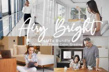 Airy Bright LUTs Bundle 2XGETHS 4