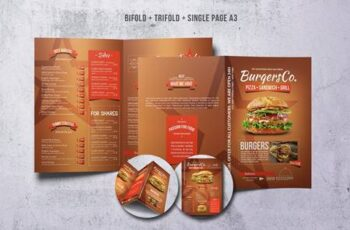 American Burgers Menu Bundle 9SGDJY 14