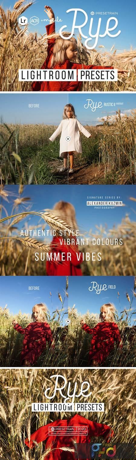 Rye Lightroom & ACR Presets 5305718 1