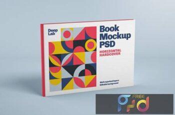 Horizontal Book Cover Mockup UKHBU75 4
