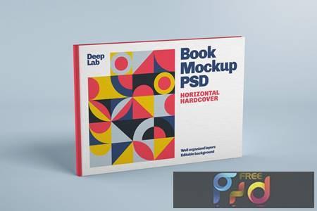 Horizontal Book Cover Mockup UKHBU75 1