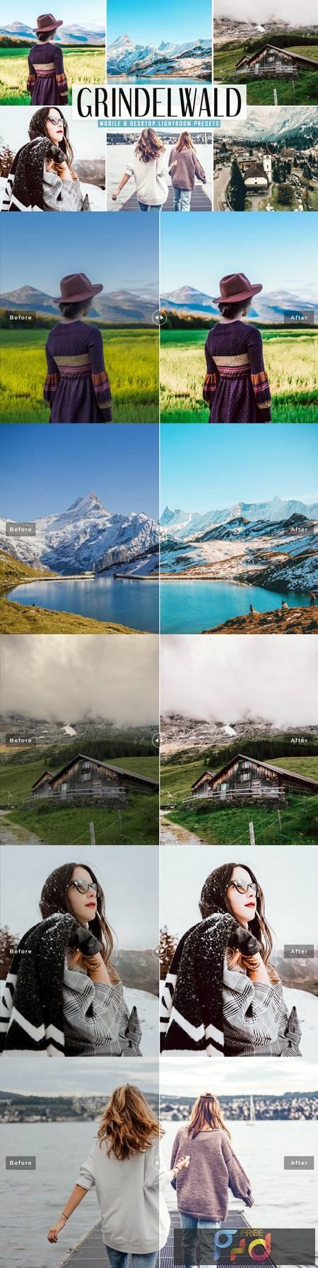 Grindelwald Mobile & Desktop Lightroom Presets 5300020 1