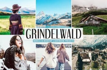 Grindelwald Mobile & Desktop Lightroom Presets 5300020 6