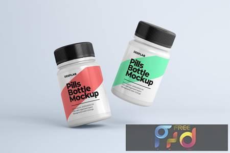 Medical Pill Bottle Mockup UA42XC9 1