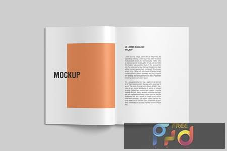 Open US Letter Magazine Mockup top view N7GHG8A 1