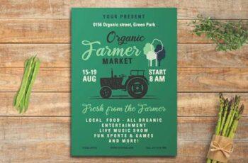 Organic Farmer Market Flyer RCNQY75 6
