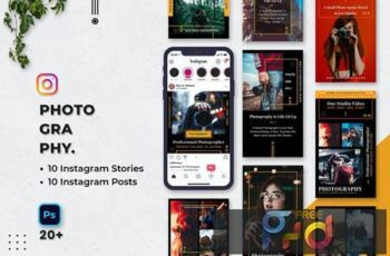 Photography Instagram Stories & Posts A7EZ9HT 7