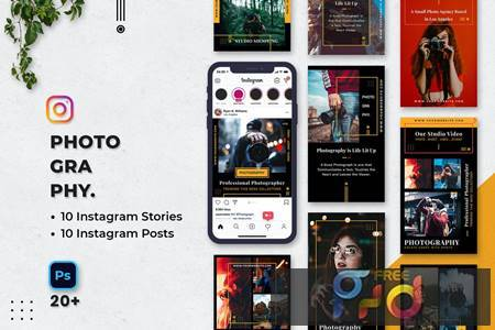 Photography Instagram Stories & Posts A7EZ9HT 1