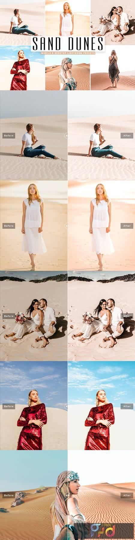 Sand Dunes Mobile & Desktop Lightroom Presets 5297612 1