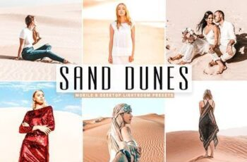 Sand Dunes Mobile & Desktop Lightroom Presets 5297612 6