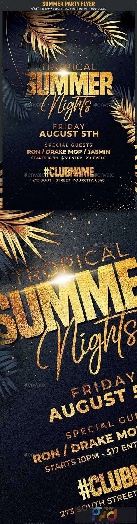 Classy Summer Party Flyer 24121415 1