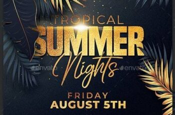 Classy Summer Party Flyer 24121415 5