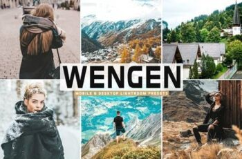 Wengen Mobile & Desktop Lightroom Presets 5299852 6
