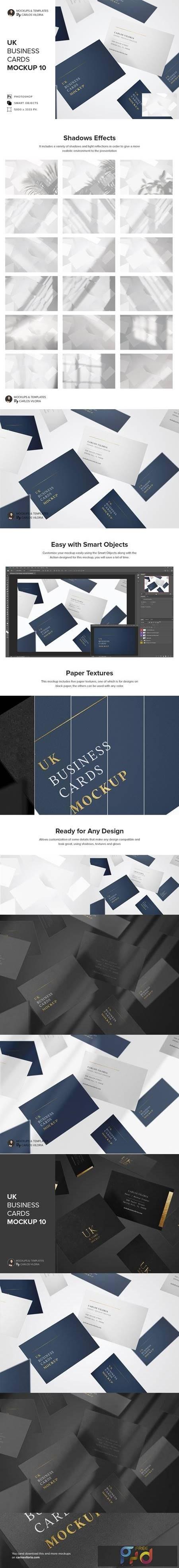 UK Business Cards Mockup 10 5217186 1