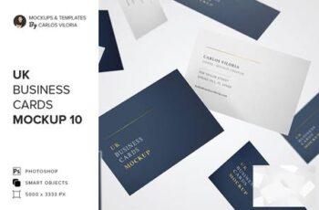 UK Business Cards Mockup 10 5217186 4
