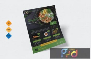 Food Restaurant Flyer Design FWZHCEK 2
